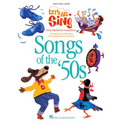 Let's All Sing Songs of the 50s - Piano/Vocal/Score