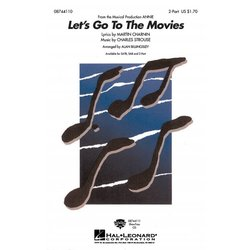 Lets Go to the Movies (from ANNIE) - 2PT Parts