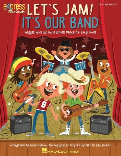 View larger image of Let's Jam! It's Our Band - Classroom Kit