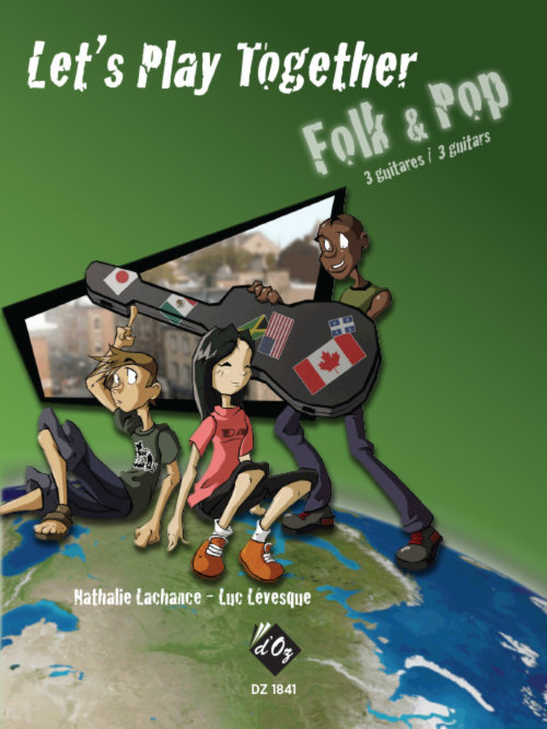 View larger image of Lets Play Together - Folk Pop (Lachance/Levesque) - Guitar Trio