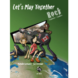 Lets Play Together - Rock (Lachance/Levesque) - Guitar Trio