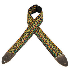 Levy's Leathers M8HTV Jacquard Guitar Strap - Pattern 14, 2
