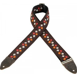 Levy's Leathers M8HTV Jacquard Guitar Strap - Pattern 15, 2
