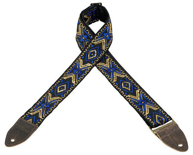 View larger image of Levy's Leathers M8HTV Jacquard Guitar Strap - Pattern 18, 2