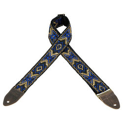 Levy's Leathers M8HTV Jacquard Guitar Strap - Pattern 18, 2