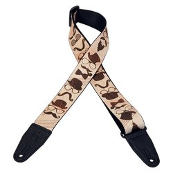 Levy's Leathers MPD2-103 Sublimation Guitar Strap