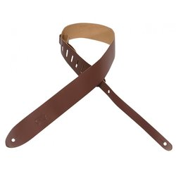 Levy's M12 2 Leather Guitar Strap - Brown
