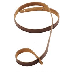 Levy's M19 3/4 Leather Mandolin Strap - Brown