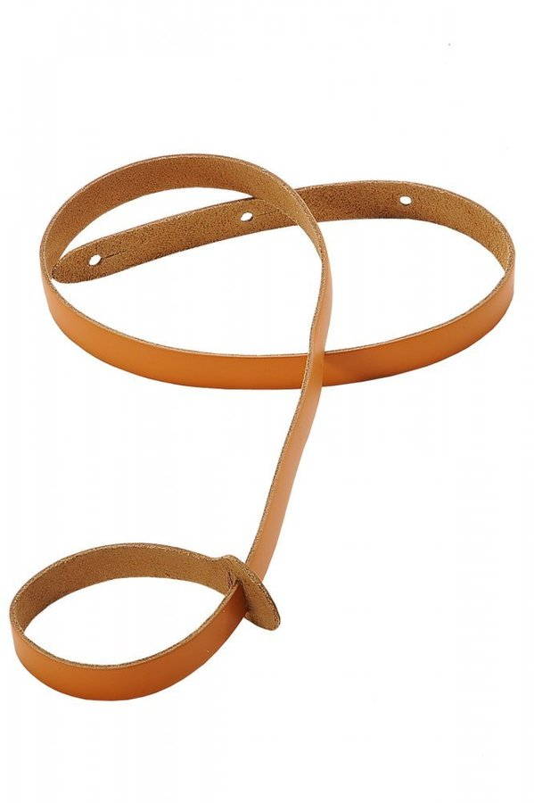 View larger image of Levy's M19 3/4 Leather Mandolin Strap - Tan