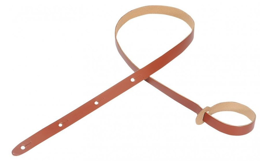 View larger image of Levy's M19 3/4 Leather Mandolin Strap - Walnut