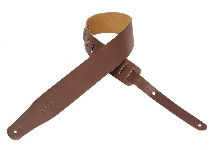 View larger image of Levy's M26 2 1/2 Leather Guitar Strap - Brown