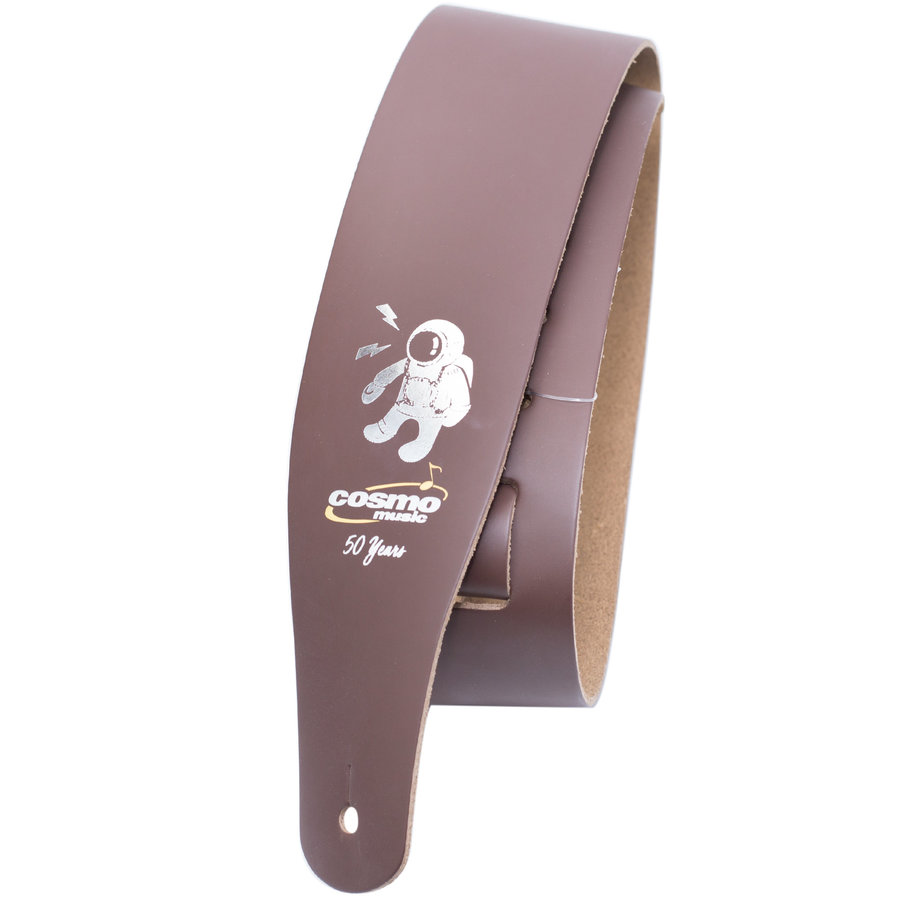 View larger image of Levy's M26 Leather Guitar Strap - Brown, Cosmo Music 50th Anniversary