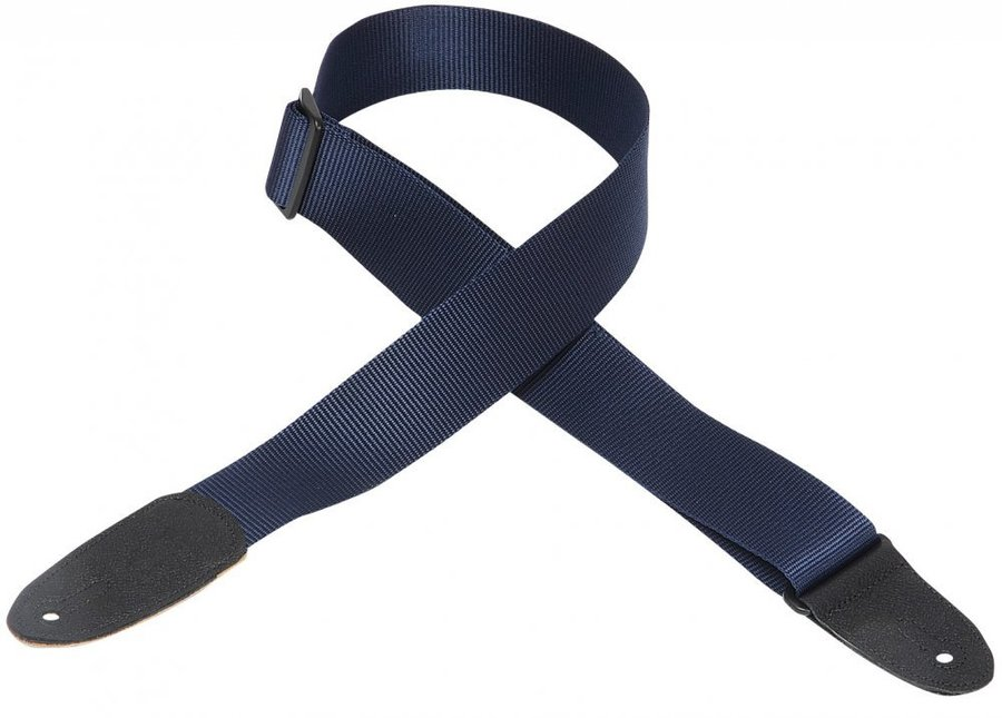 View larger image of Levy's M8 2 Soft-Hand Polypropylene Guitar Strap - Navy