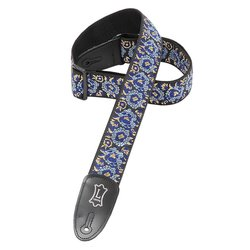 Levy's M8AS 2 Asian Jacquard Weave Guitar Strap - Navy