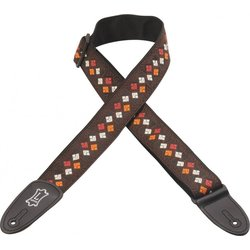 Levy's M8HT-15  2 60's Hootenanny Jacquard Weave Guitar Strap