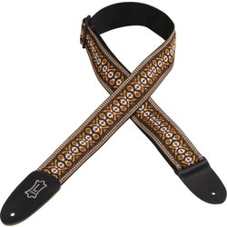 Levy's M8HT-20 2 60s Hootenanny Jacquard Weave Guitar Strap