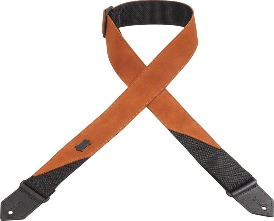 View larger image of Levy's M8S 2 Suede Leather Guitar Strap - Copper