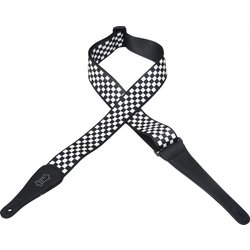 Levy's MP-28 2 Polyester Guitar Strap - Checker Pattern