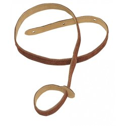 Levy's MS19 3/4 Suede Leather Mandolin Strap - Rust