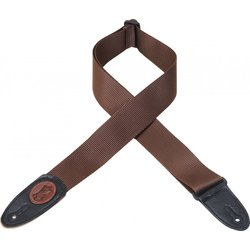 Levy's MSS8 2 Signature Series Soft-Hand Polypropylene Guitar Strap - Brown