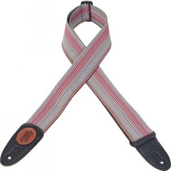 Levy's MSS8 2 Signature Series Soft-Hand Polypropylene Guitar Strap - Multi-Colour