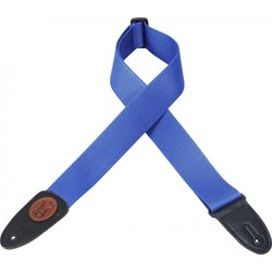 Levy's MSS8 2 Signature Series Soft-Hand Polypropylene Guitar Strap - Royal Blue
