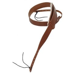 Levy's PM13 1 3/4 Carving Leather Banjo Strap - Walnut