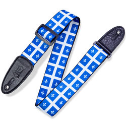Levy's Print Series Provincial Guitar Strap - Quebec, 2