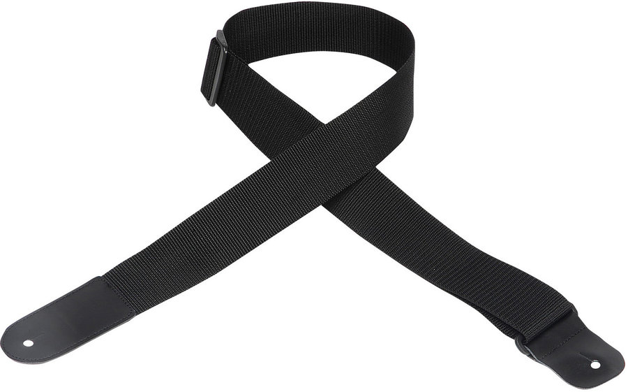 View larger image of Levy's Woven Poly Guitar Strap - 2, Black