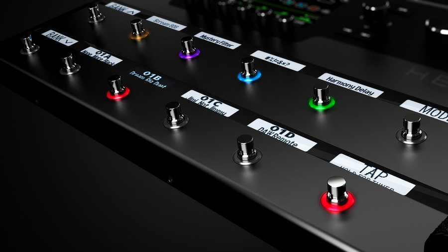 View larger image of Line 6 Helix Multi-Effects Pedal