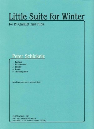 View larger image of Little Suite for Winter - (Clarinet/Tuba Duet)