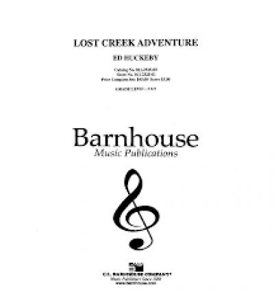 View larger image of Lost Creek Adventure - Score & Parts, Grade 2