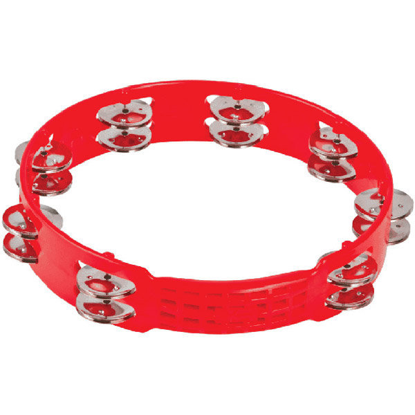 View larger image of LP Aspire Tambourine - 10, Red