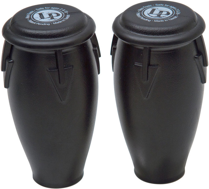 View larger image of LP Conga Shakers  - Black, Bag of 36