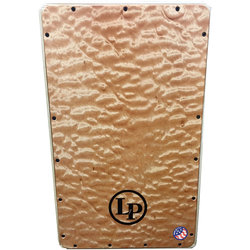 LP Americana Groove Wire Cajon - Quilted Maple