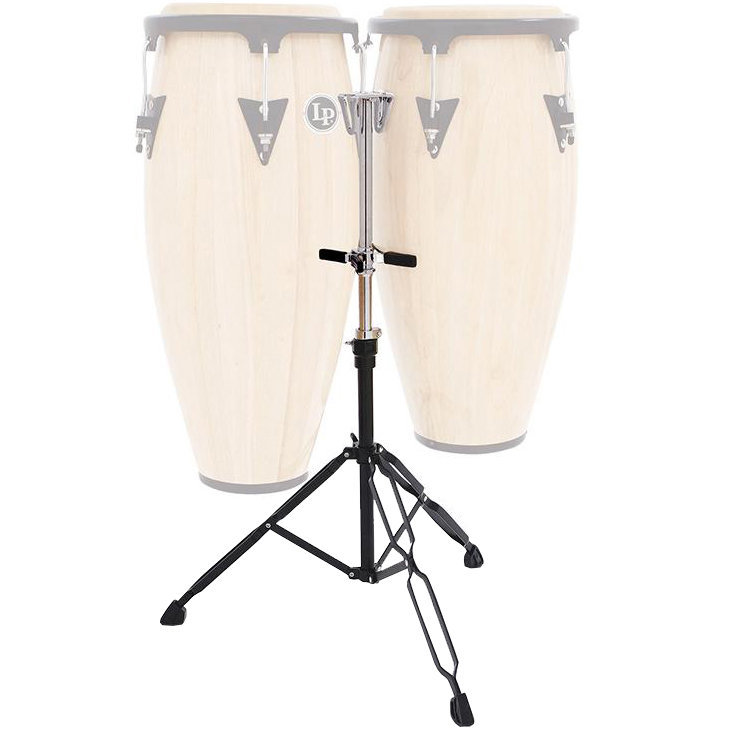 View larger image of LP Slide Mount Double Conga Stand