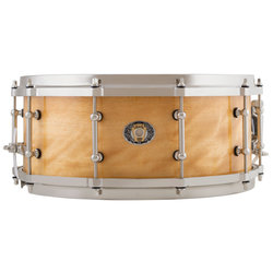 Ludwig 110th Anniversary Aged Exotic Avodire Snare Drum - 5.5 x 14