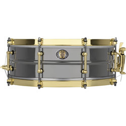Ludwig 110th Anniversary Black Beauty Snare Drum - 5x14