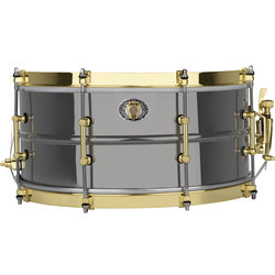 Ludwig 110th Anniversary Black Beauty Snare Drum - 6-1/2x14