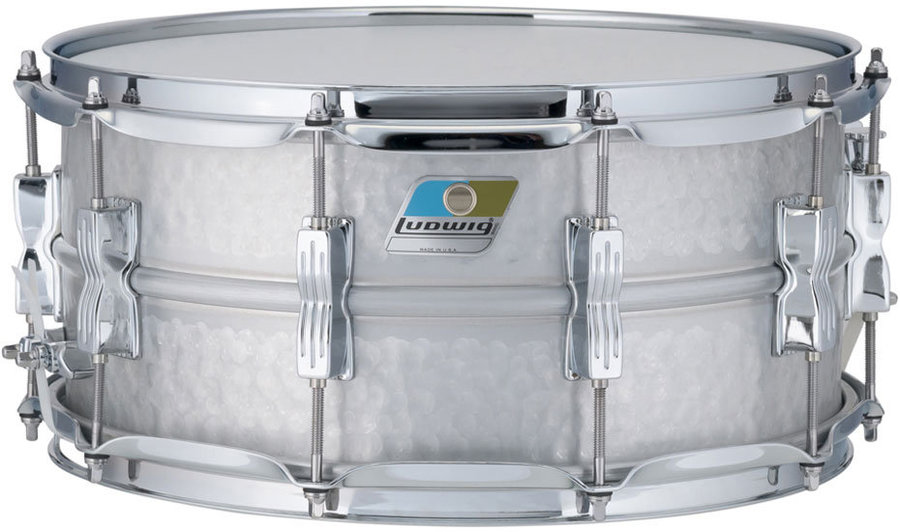 View larger image of Ludwig Acrolite Hammered Snare Drum - 6.5 x 14