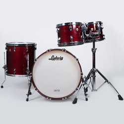 Ludwig Classic Maple 4-Piece Shell Pack - 22/16FT/12/10, Satin Cherry