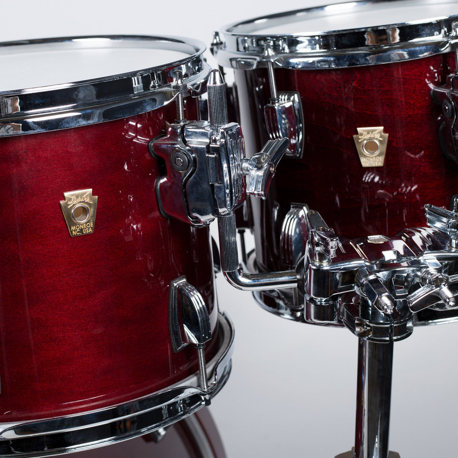 View larger image of Ludwig Classic Maple 4-Piece Shell Pack - 22/16FT/12/10, Satin Cherry
