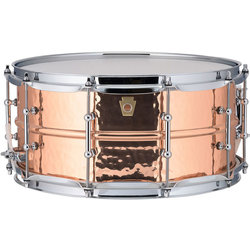 Ludwig Copperphonic Hammered Snare Drum - 6.5 x 14