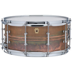 Ludwig Copperphonic Raw Copper Snare Drum - 6.5 x 14