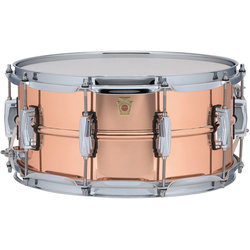 Ludwig Copperphonic Snare Drum - 6.5 x 14, Imperial Lugs
