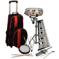 Ludwig Percussion Kit - Snare, Bells, Practice Pad, Stand, Case