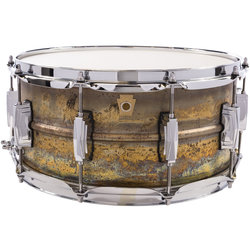 Ludwig Raw Brass Phonic Snare Drum - 6.5 x 14