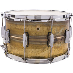 Ludwig Raw Brass Phonic Snare Drum - 8 x 14