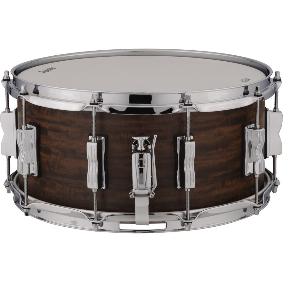 """View larger image of Ludwig Standard Maple Snare Drum - 6-1/2""""x14"""", Aged Ebony"""