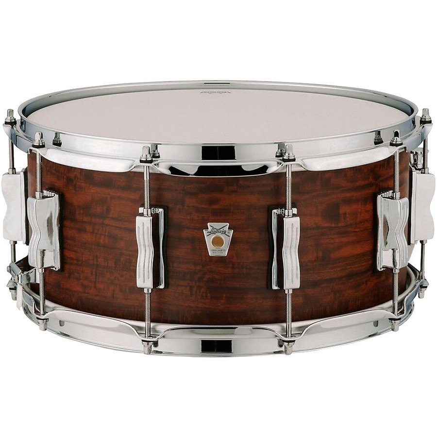 """View larger image of Ludwig Standard Maple Snare Drum - 6-1/2""""x14"""", Aged Chestnut"""
